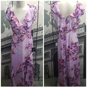 Lulus NWT Floral Maxi Dress Size M